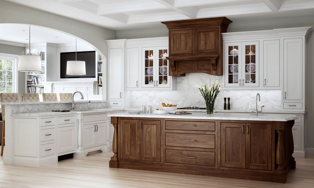 Woodland Cabinetry - Walnut